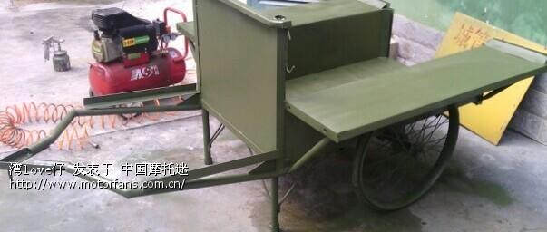 用四轮沙滩车和清洁车改个小拖拉机全车完工图片