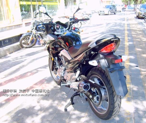 """鹿城第一辆""""gw250s摩托车旅行版!"""