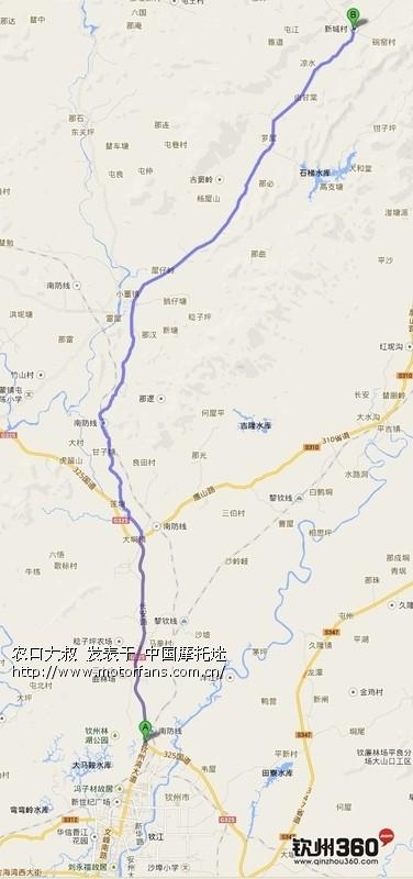 钦州北区规划图