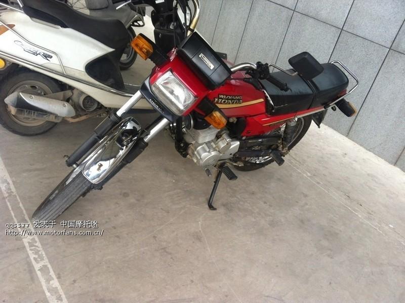 老五羊125-c - 五羊本田-骑式车讨论专区 - 摩托车