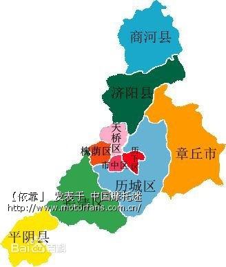 济南九如山景区地图