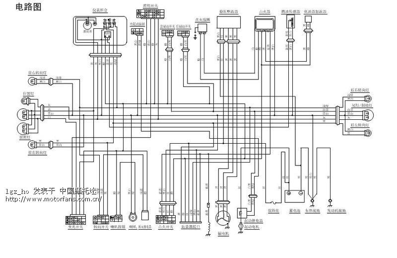 谁能给个gy6接线图,或原理图?
