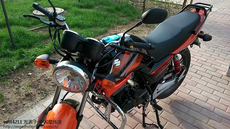 怒提轻骑铃木俊威gsx125