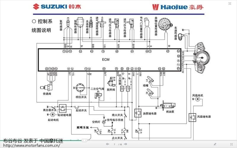 gw250的开关接线图