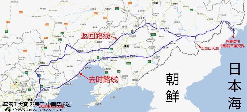 东北防川风景区地图