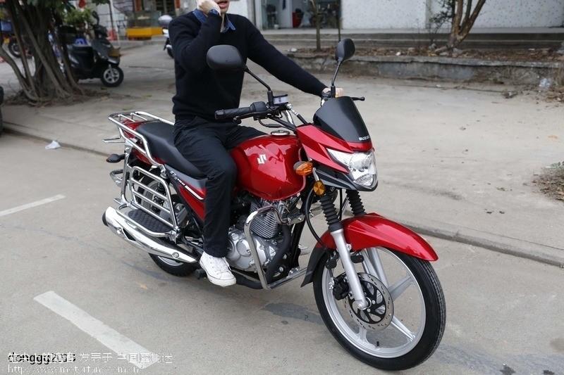 豪爵铃木ga150 - 悦冠 - 摩托车论坛 - 中国摩托迷网