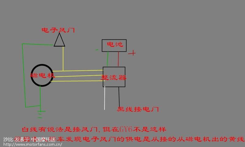gy6 换磁电机,求七线三相整流器接线