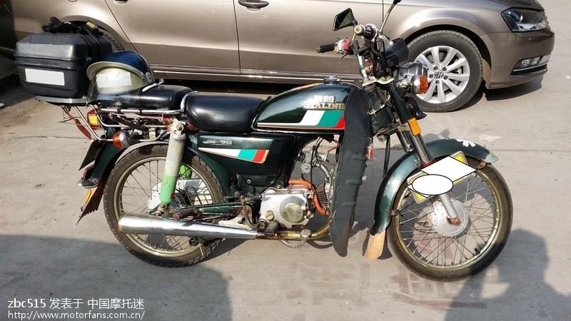 经典jh70摩托车