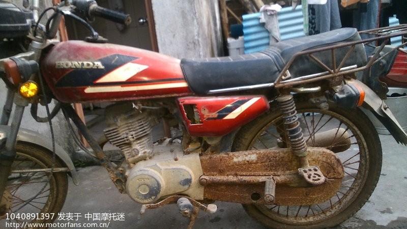 cg125复古改装 - 维修改装 - 摩托车论坛 - 中国摩托