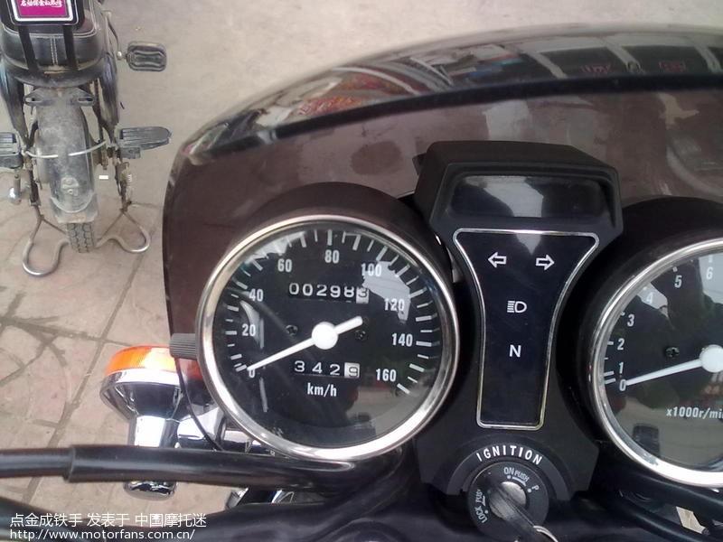 20150201148-2015年2月1日,298公里,第二次换机油时的里程表.jpg