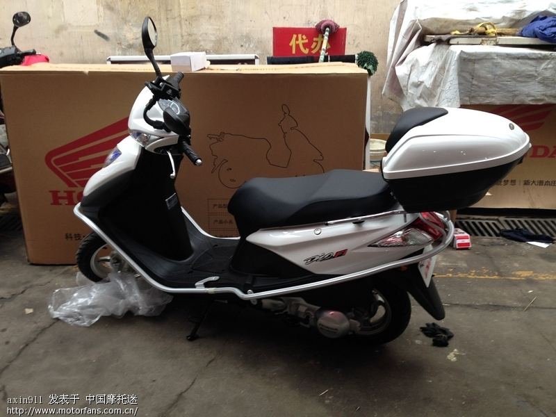 新手报到,电喷dio - 新大洲本田-踏板车讨论专区 - 车
