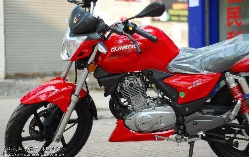 江苏钱江仓库出来2台红色QJ125 26A 御龙 徐州鑫会摩托车销售公司