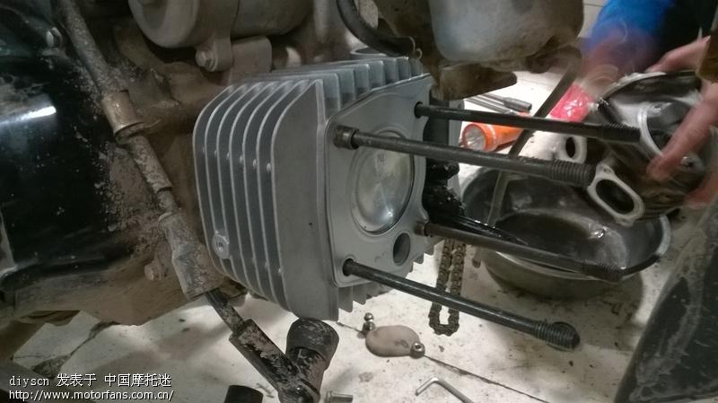 又去修发动机了 - 弯梁世界 - 摩托车论坛 - 中国摩托