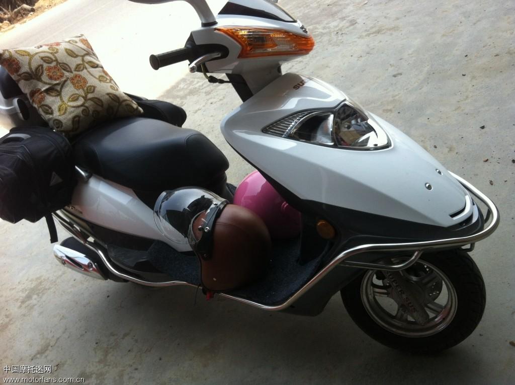 天龙星河南游 - 豪爵铃木-踏板车讨论专区 - 摩托车