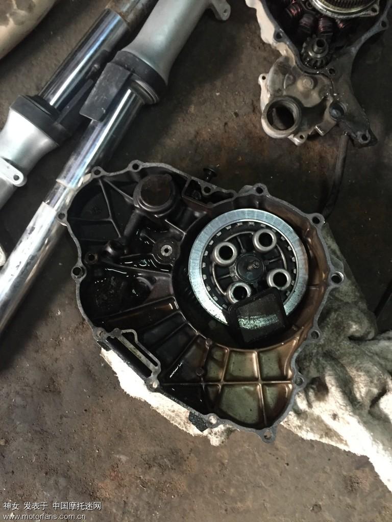 离合器 雅马哈天剑 拆车件图片