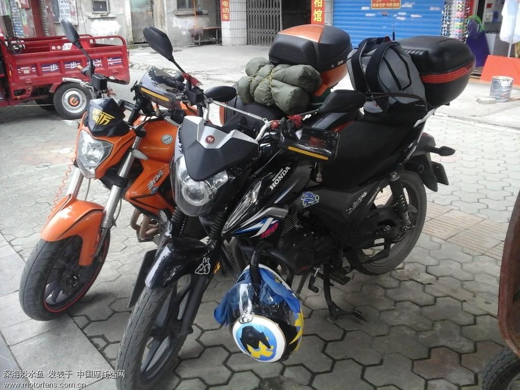 桂林市区禁摩。装备放车上了