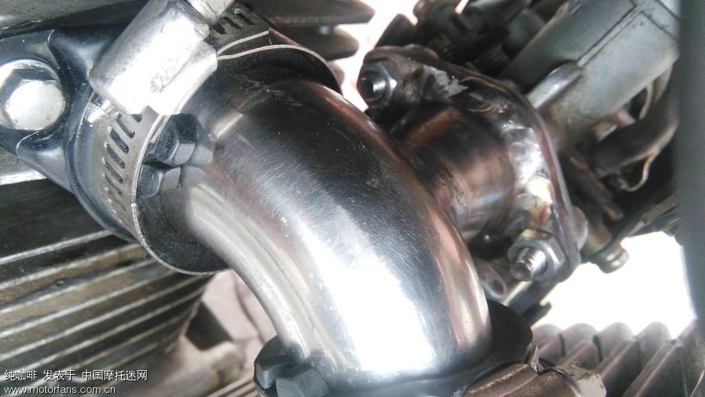 春兰虎125改装xv250发动机