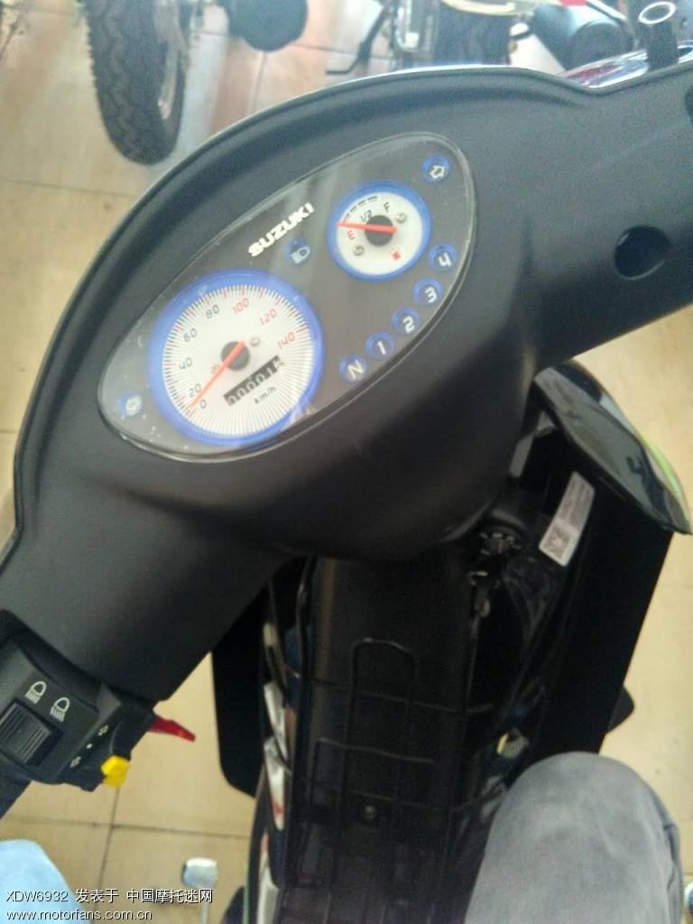 锋驰,轻骑铃木110-C,豪爵UD110.想买个带前碟刹的弯梁车