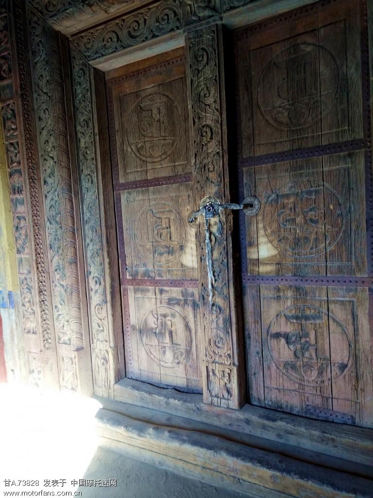 此门已有七百多年历史
