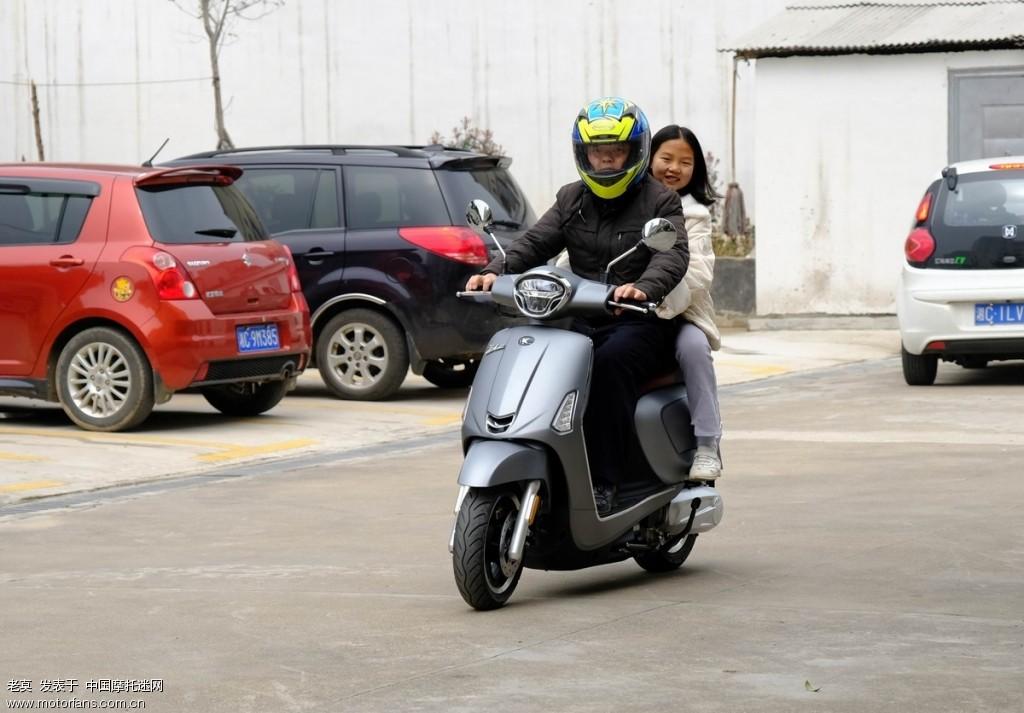2018 新年购置光阳LIKE 150 踏板摩托车 07.jpg