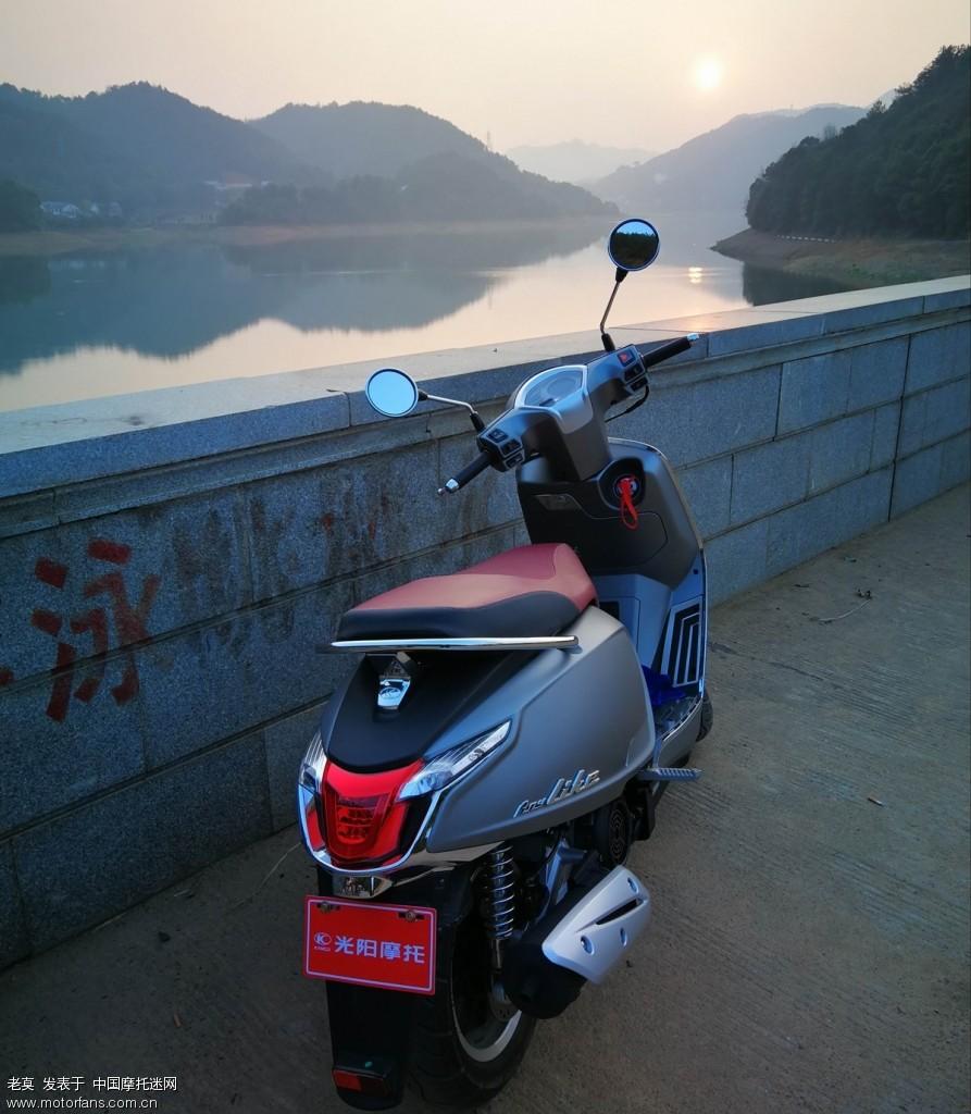 2018 新年购置光阳LIKE 150 踏板摩托车 13.jpg