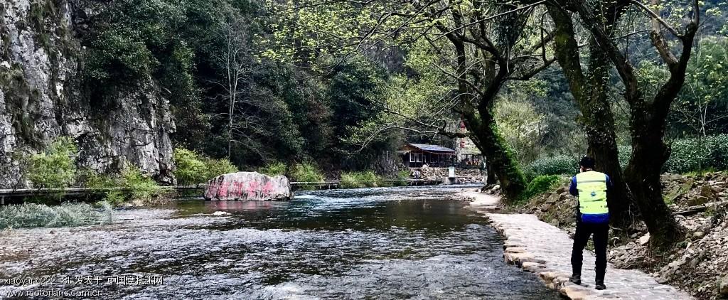 这是回来路过水墨汀溪