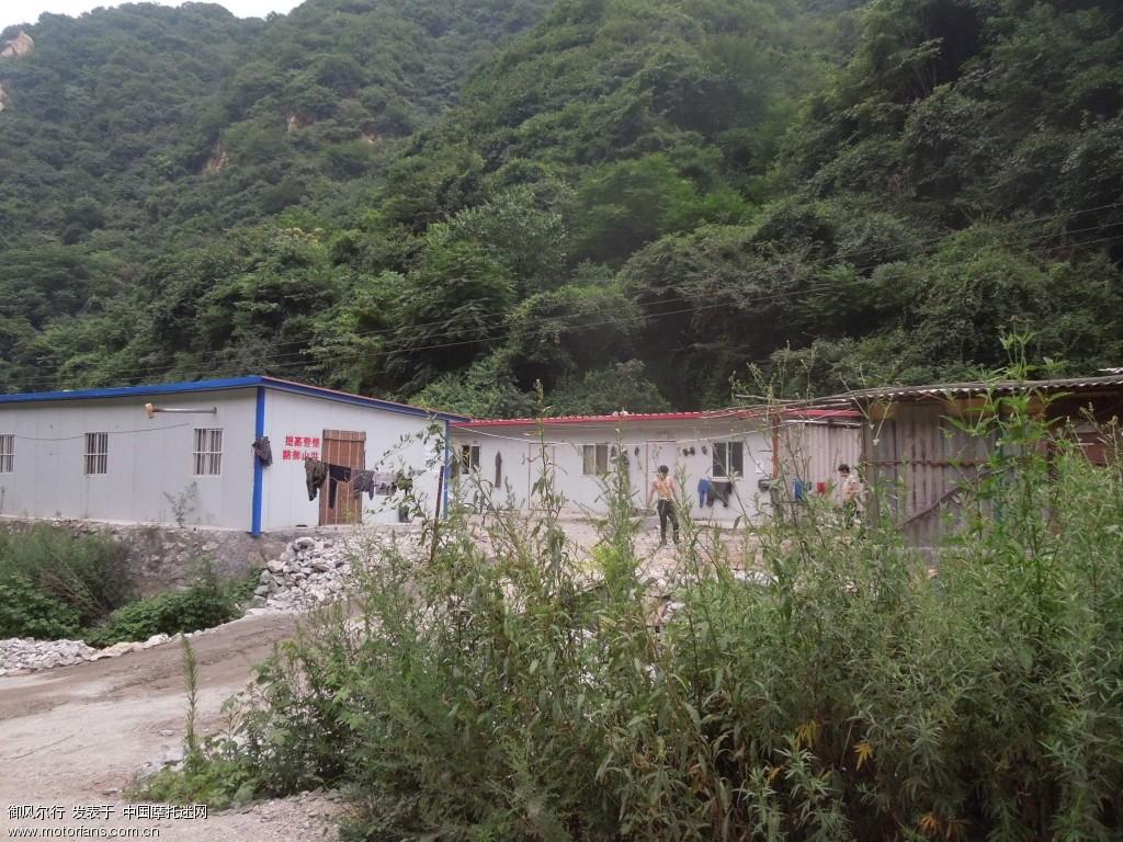 矿工们住的简易房