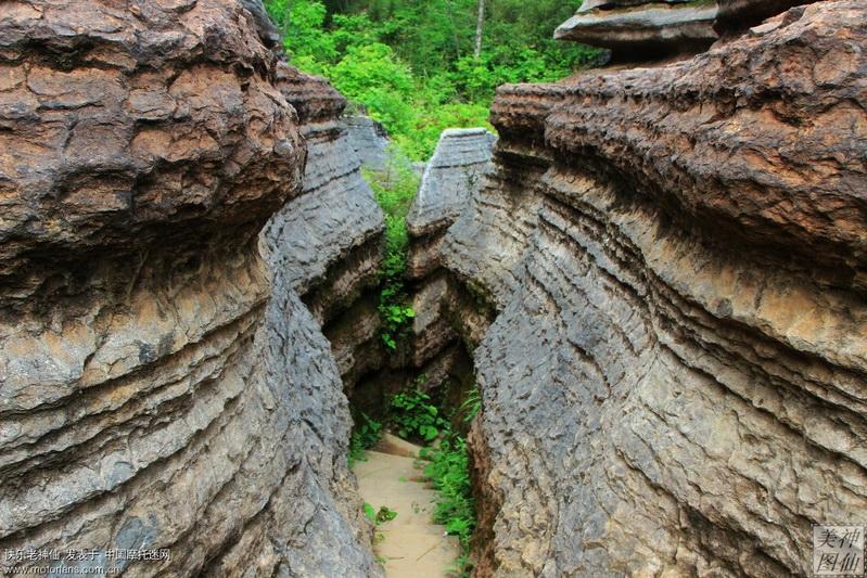 草川子石林