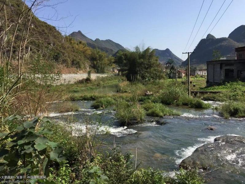 三里镇黄镜村瀑布