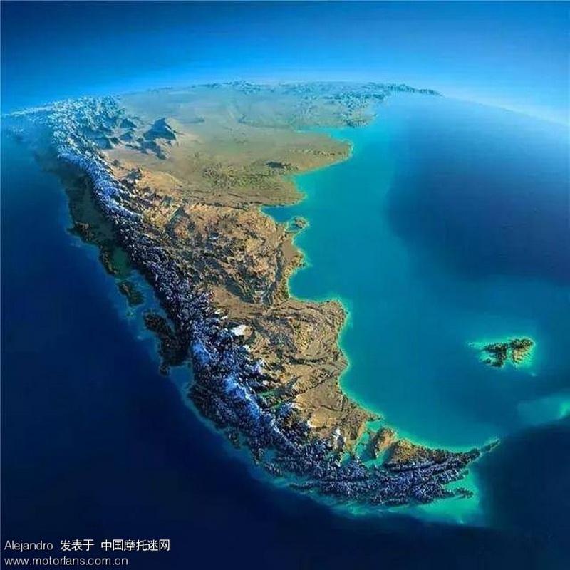 南美洲大陆  地球的另一端  离中国最远的大陆