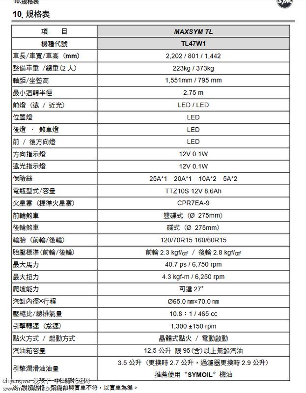 TL规格表.png