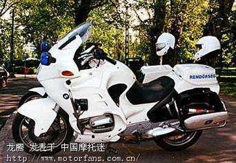 宝马巡航摩托警车