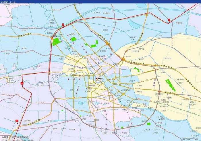 分段里程,距离起点秦皇岛山海关里程,属地   西青区 31  118  天津