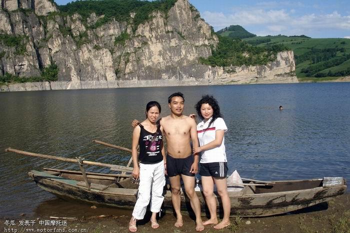 8月2日冬瓜去白山湖风景区的照片