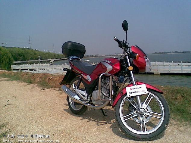 买了轻骑铃木gsx125-3b,郁闷中