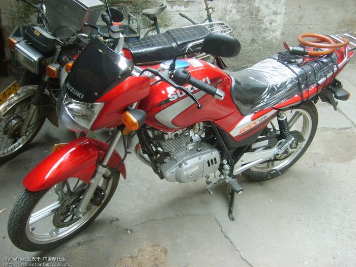 gsx125-3b骑行报告~ - 济南铃木-骑式车 - 摩托车