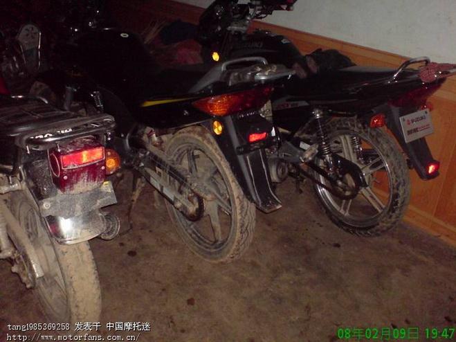 我的垃圾gsx125-3b中奖前后 - 济南铃木-骑式车 - 车