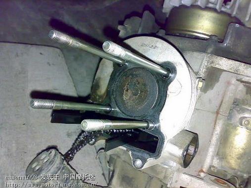 摩托车气门油封安装图