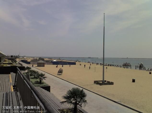 上海金山城市沙滩在金山区的南面.