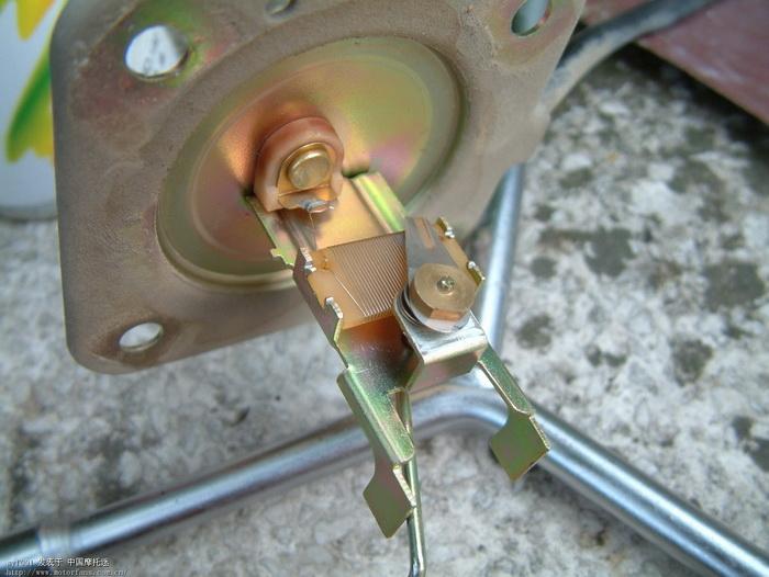 摩托车指针油表接线图