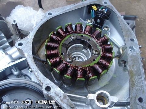 国产车里面的定子线圈和触发器焊点.jpg