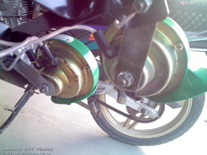 蜗牛喇叭的安装位置