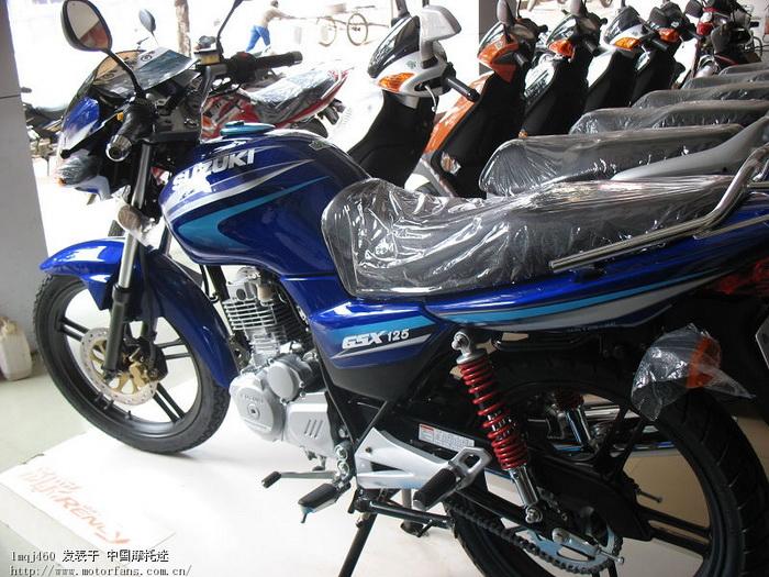 铃木未来版gsx-125-3f今天刚刚装好