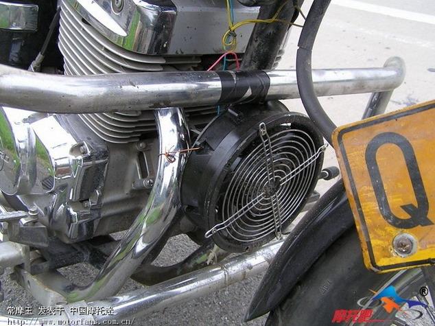 摩托车油门表接线图