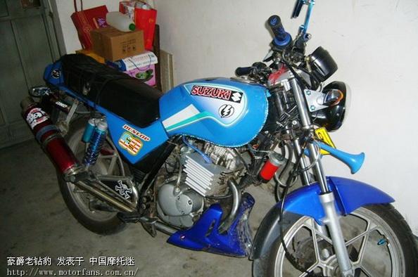 豪爵老钻豹 - 钻豹 - 摩托车论坛 - 中国摩托迷网 将