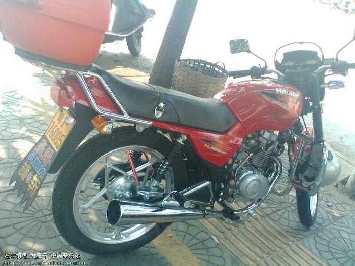豪爵125-f - 豪爵铃木-骑式车讨论专区 - 摩托车论坛
