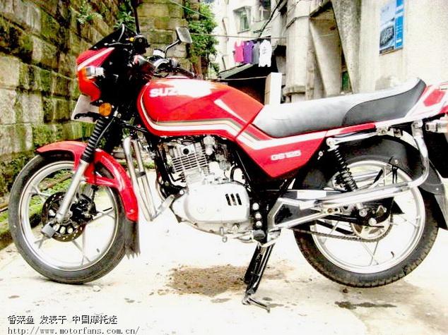 新的经典gs125铃木王