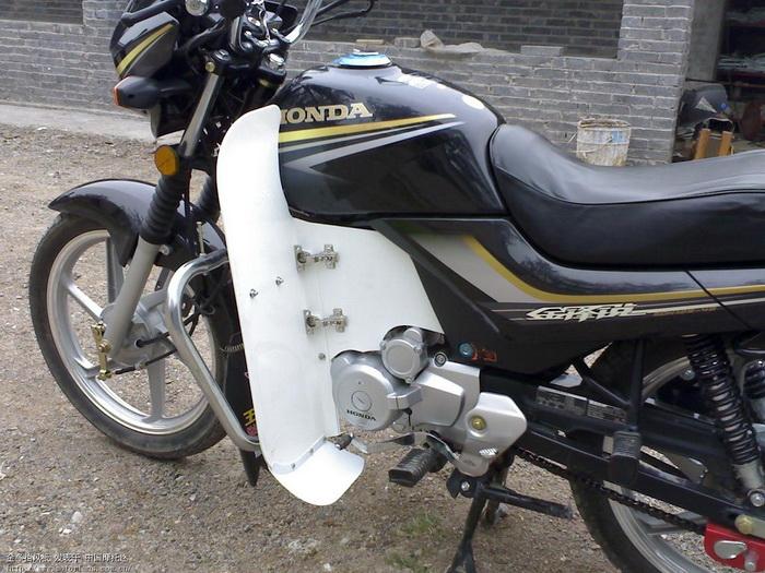 我的金锋锐 - 新大洲本田-骑式车讨论专区 - 摩托车