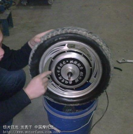 电瓶车电机构造及轴承更换