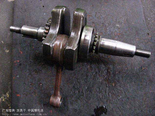 天剑改163cc+换轴承-长